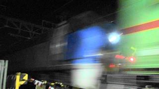 2017,2,16 貨物列車 いろいろいっぱい23本 唸るモーター‼ 高速ジョイント‼ 深夜の東海道をかっとばせ‼