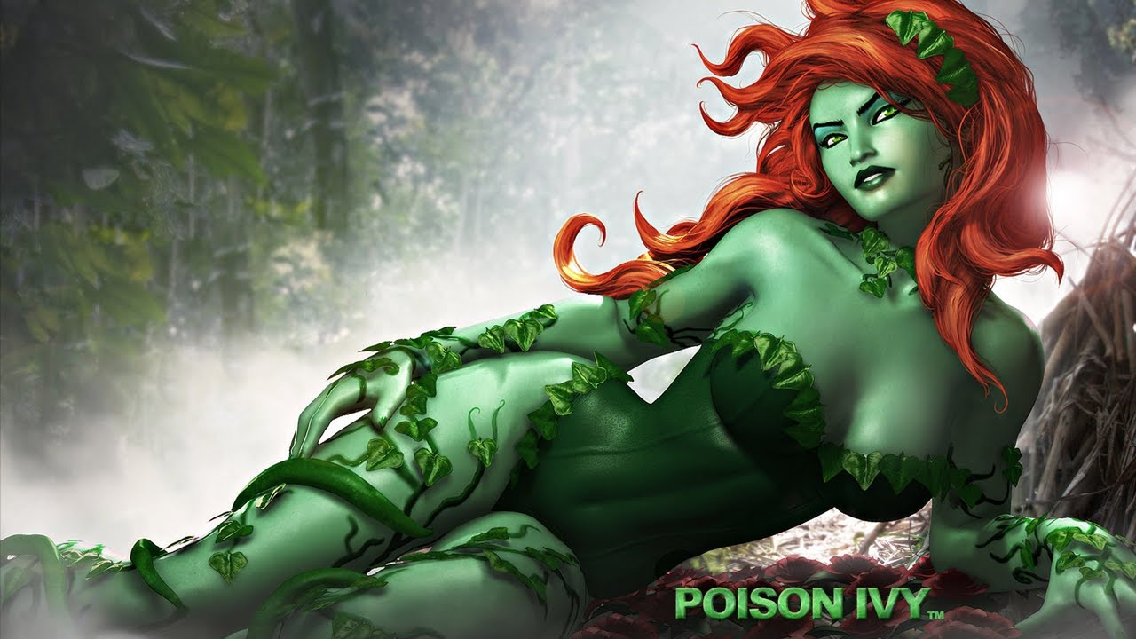 Please, poison ivy batman nude
