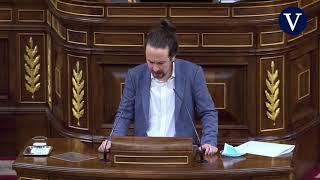 """Iglesias aplaude a Casado por su """"discurso canovista"""" y le reprocha que """"llegue tarde"""""""