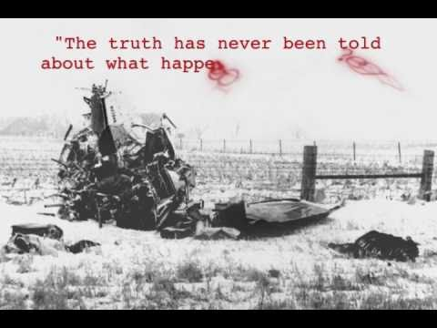 "Truth of 1959 plane crash killing Buddy Holly, Ritchie Valens, and J.P. ""The Big Bopper"" Richardson"