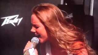"Danielle Bradbery covers ""Try"" by Pink Stagecoach Festival 2014"
