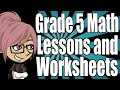 Grade 5 Math Lessons and Worksheets