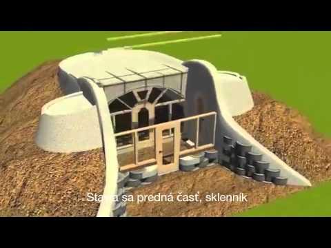 EarthshipReynolds Simple survival model earthship  YouTube