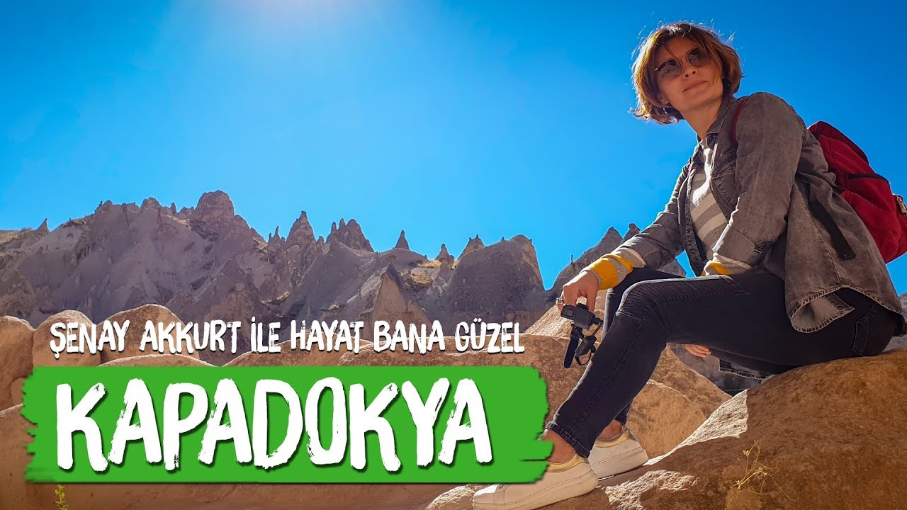 Kapadokya  (Cappadocia) - Hayat Bana Güzel  travel vlog cappadocia turkey