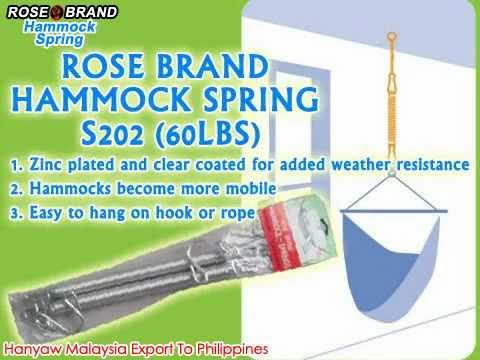 Medium image of rose brand hammock spring s202  60lbs    hanyaw malaysia export to philippines