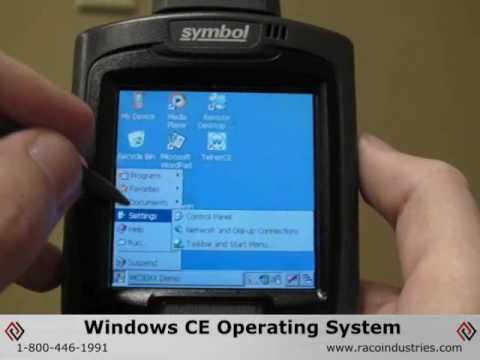 motorola mc3000 handheld mobile computer with rotating scan head rh youtube com Symbol Scanner Programming Manual PDF Symbol