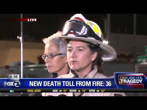 News Conference: Death toll in Oakland Warehouse fire climbs to 36