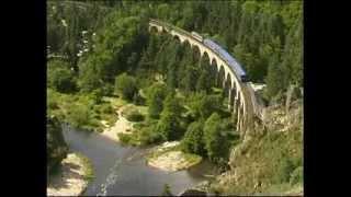 Le train touristique des Gorges de l'Allier  YouTube