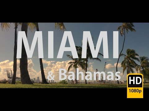 A Cinematic Miami & Bahamas Travel video HD