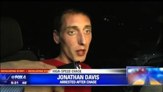 driver talks to fox 4 following high speed chase
