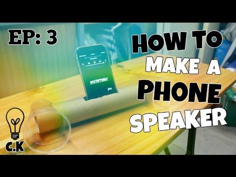 How To Make A DIY Phone Speaker