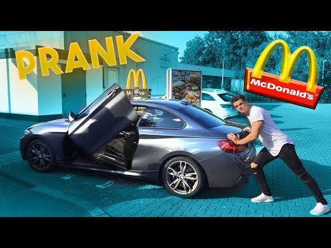 McDonalds PRANK | BMW M240i kaputt  | FLEX IT