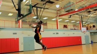 How to Do a Self Alley-Oop | Basketball