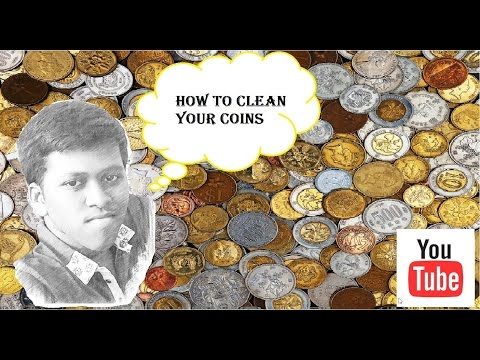 How To Clean Your Copper Coins-art of numismatics -1
