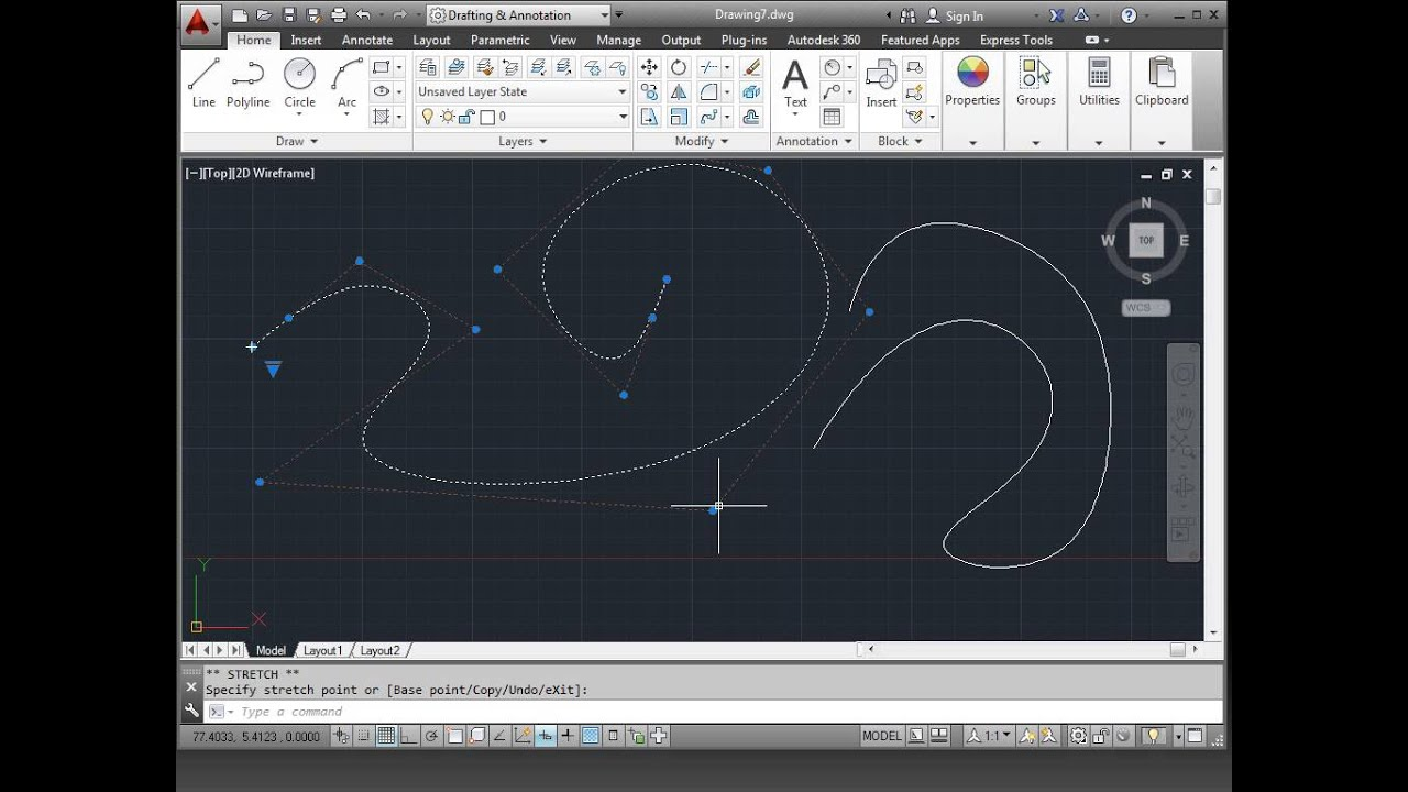Solved: Can't polyline or spline this profile into a closed ...