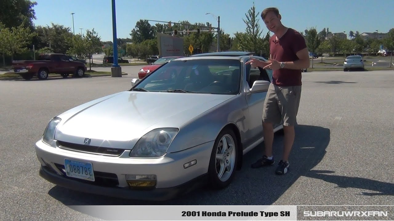 Review: 2001 Honda Prelude Type SH - YouTube