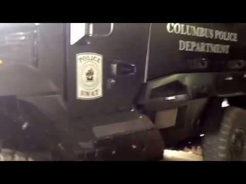 Columbus Ga Police Dept  MRAP Vehicle - YouTube