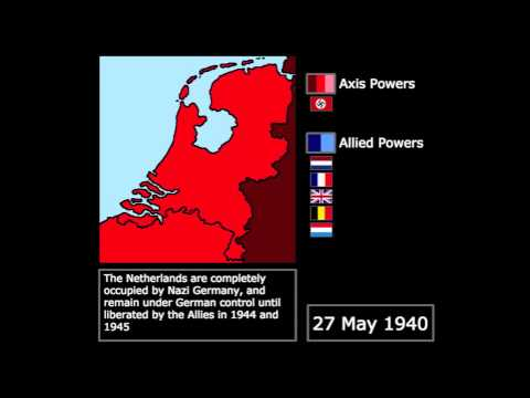 [WWII] Battle of the Netherlands (1940): Every Day