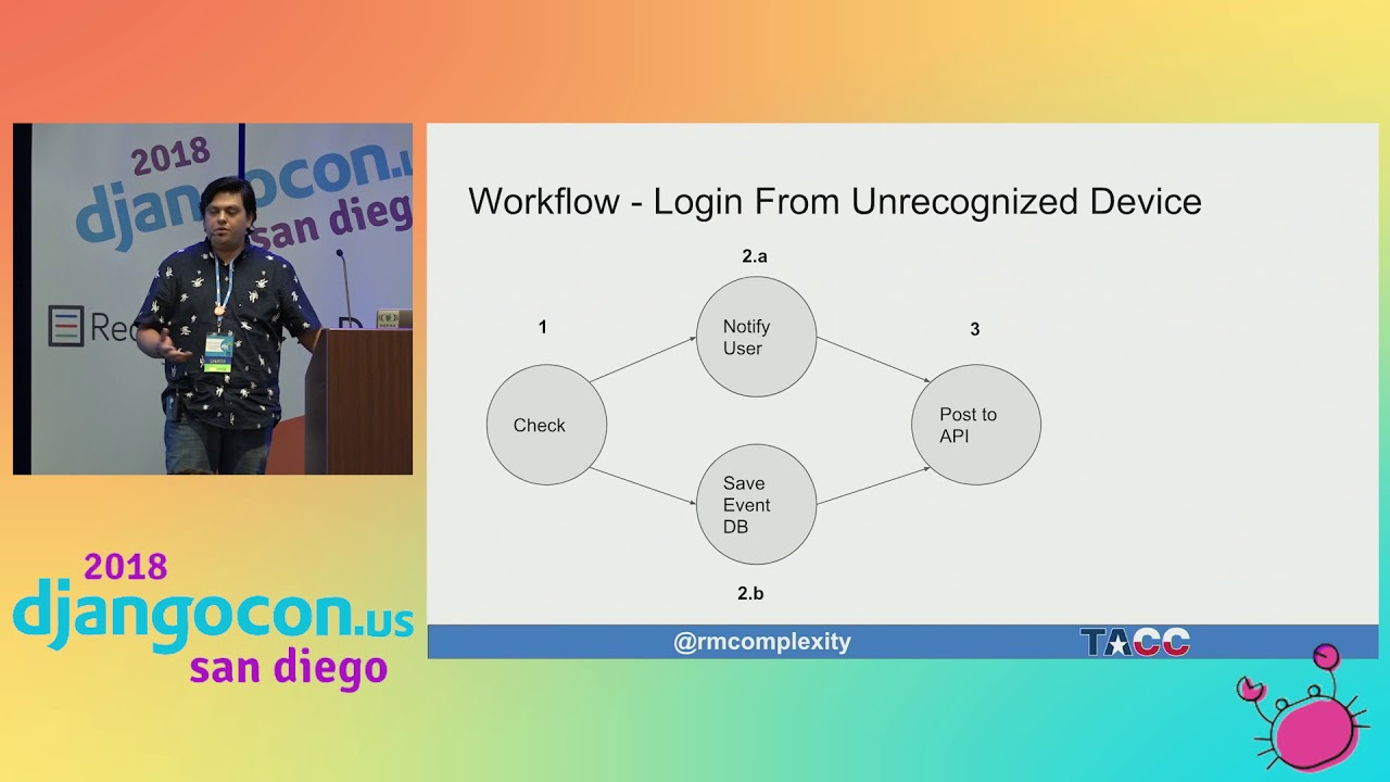 Image from Building Workflows With Celery