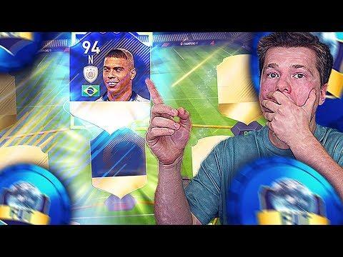🔥2 IKONY W DRAFCIE FIFA 18!!! IKONA RONALDO!!!