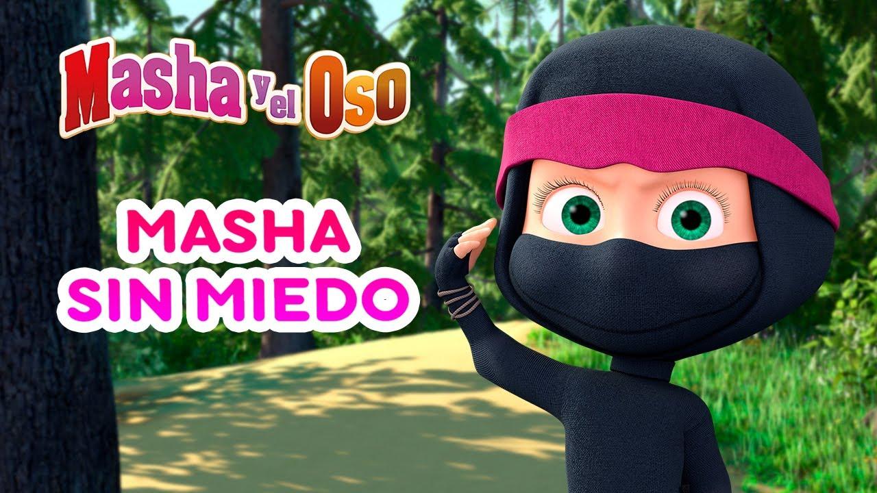 🐻 Masha y el Oso 👱♀️🐱👤 Masha sin Miedo 👻🌒 Colección de dibujos animados