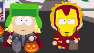 South Park Almost all moments of Kenny without his hood