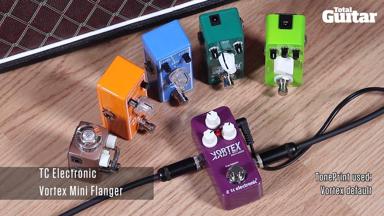 mini effects pedal shootout demo modulation xvive mooer tone