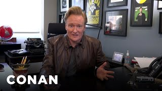 Conan Celebrates His 25th Anniversary & Announces The Late Night Archive