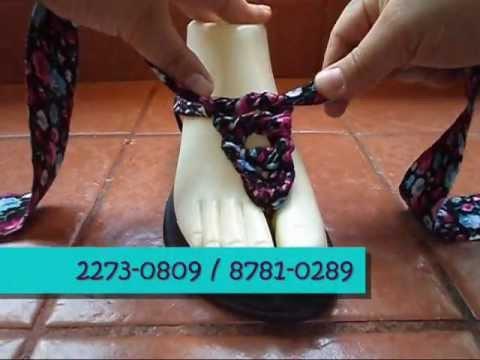 SANDALIAS ENRREDOS 7 - YouTube