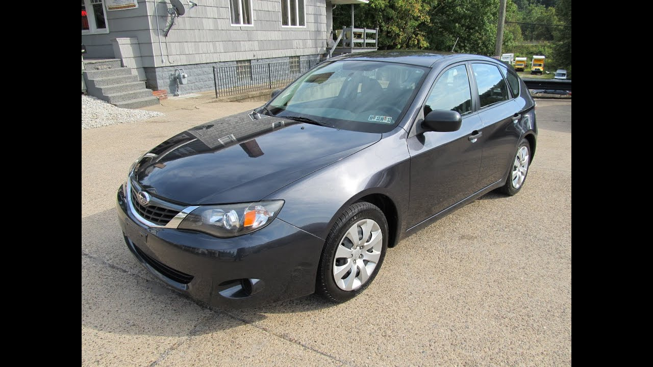2008 Subaru Impreza Hatchback AWD Elite Auto Outlet Bridgeport Ohio