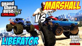 GTA 5 PS4 - Cheval Marshall Vs The Liberator | #102 (GTA V)