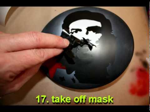Che Guevara Airbrush tutorial