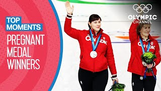 Athletes who won Olympic medals whilst Pregnant | Top Moments