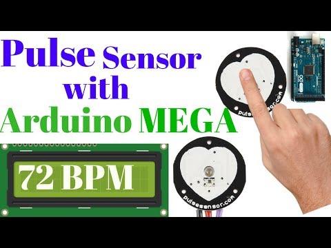 Pulse Sensor With Arduino MEGA - YouTube