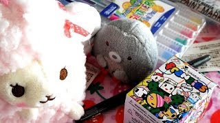 Kawaii Haul Crafts and TokiDoki Blind Boxes