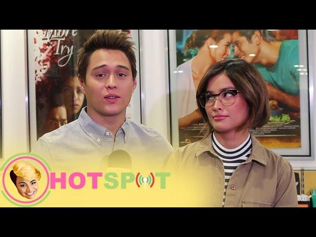 Hotspot 2017 Episode 785: Enrique, nag bigay trivia patungkol sa regalong bag nito kay Liza Soberano