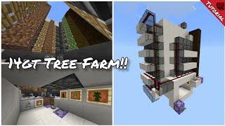 14gt Tree Farm Tutorial!!! (Minecraft Bedrock Edition.)
