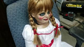 LIFESIZE ANNABELLE DOLL MOVIE PROP 2018