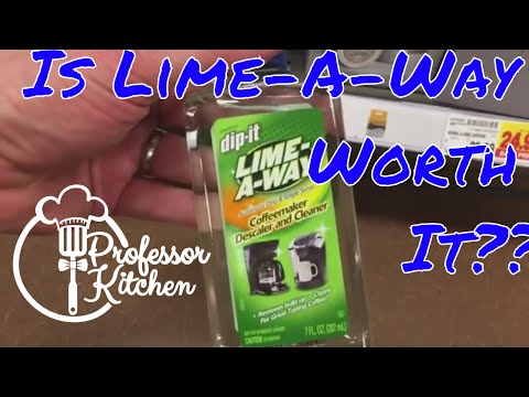 Review of Lime-A Way Coffeemaker Descaler and Cleaner