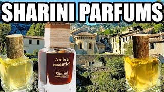 Sharini Parfums (Santal Blanc, Ambre Essentiel, Rose Blanche)