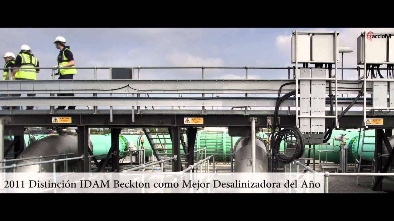 ACCIONA Agua nombrada Mejor Empresa Mundial de Agua del año