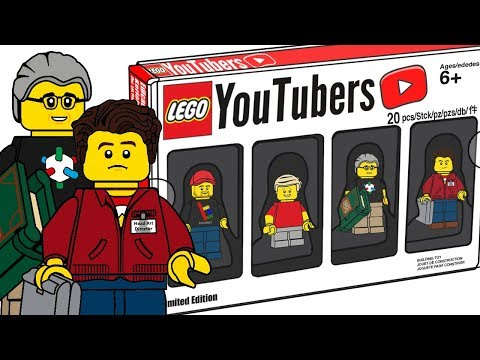 LEGO YouTubers Minifigures Bricktober Pack - CMF Draft!