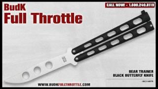 Bear Trainer Black Butterfly Knife