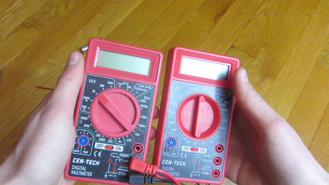 Cen Tech Digital Clamp Meter Mini : Cen tech multimeter instruction manual wiring diagrams