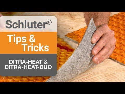 How To Program The Ditra Heat E Rt Thermostat Doovi