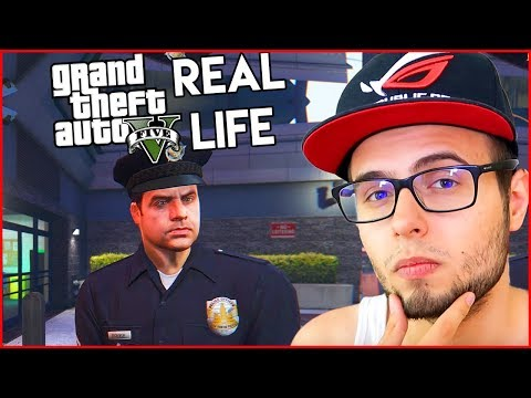 Am fost ARESTAT de un gabor pe GTA Real Life!