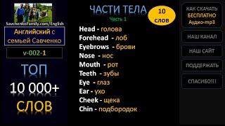 Английский / 10 000 слов /v-002-1/ Английский язык - семья / Английский с семьей Савченко