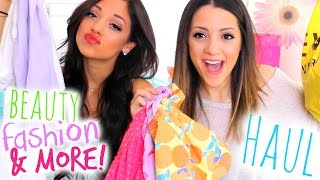 HUGE Spring Fashion + Beauty Haul 2015! F21, Francesca's, Aerie, Sephora + more!