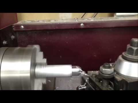 9x20 HF cnc converted lathe, first chips(almost)