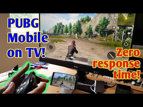 PUBG Mobile On TV Zero Response Time (and Other Apps) - What You Need